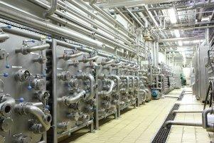Замена освещения на пивоваренном заводе Carlsberg