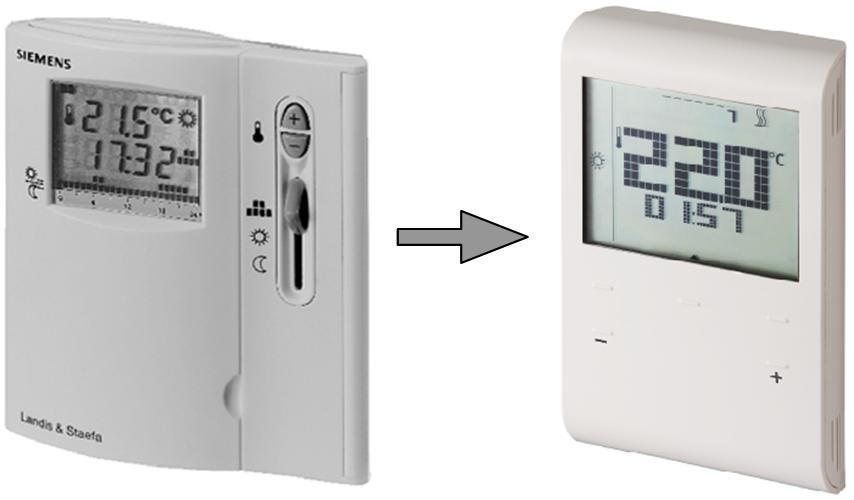 Обновление термостатов Siemens