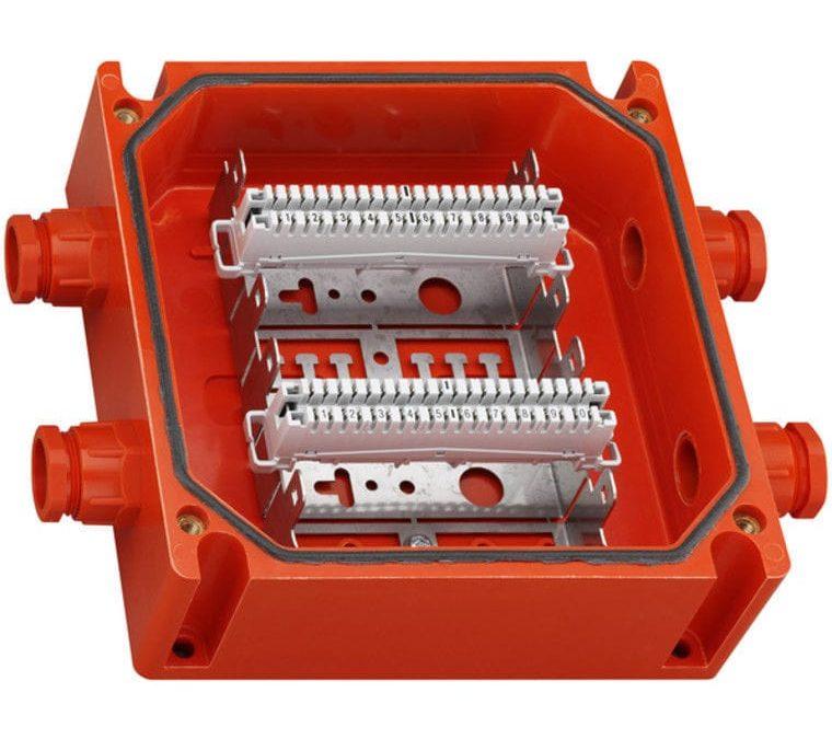 Огнестойкая коробка с клеммами lsa-plus – расширение ряда WKE