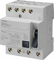 Устройства защитного отключения Siemens