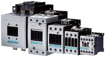 Контакторы Siemens для коммутации цепей постоянного тока