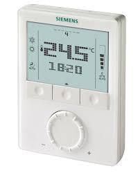 Siemens сообщает об обновлении комнатных термостатов RDG160
