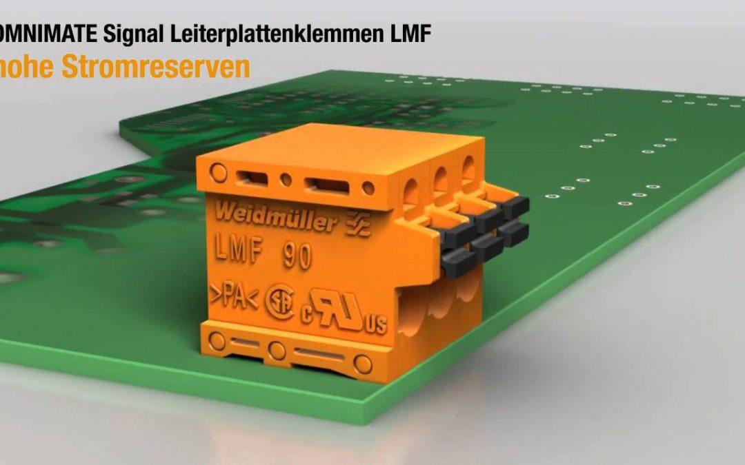 Клеммы OMNIMATE® Signal LMF компании Weidmüller