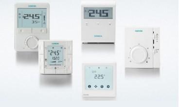 Устаткування для систем опалення, вентиляції та кондиціонування компанії Siemens