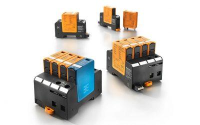 Weidmuller VARITECTOR PU AC S-line: захист від перенапруги