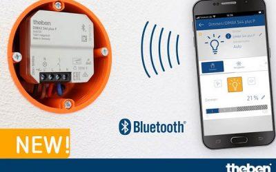 Нові світлорегулятори THEBEN DIMAX 544 plus – просте налаштування та керування смартфоном
