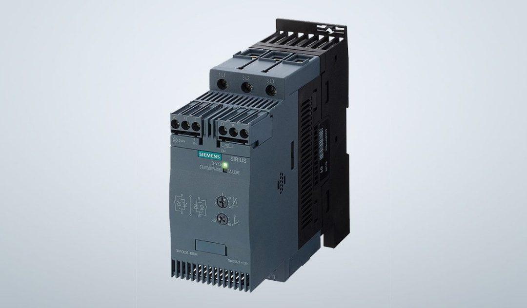 Пристрої плавного пуску Siemens SIRIUS 3RW30