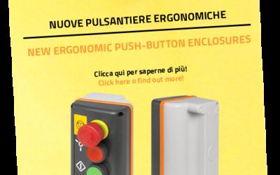 Нові термопластикові кнопкові пульти з нахилом – New Elfin