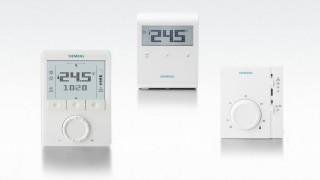 Різноманітність кімнатніх термостатів Siemens
