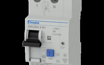 Doepke DRCBO 4 – дифавтомати у компактному корпусі