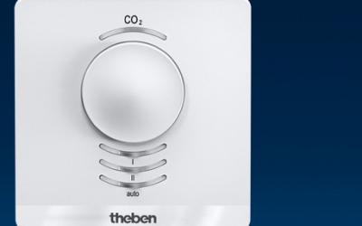 Датчики СО2 у системах автоматизації KNX від Theben