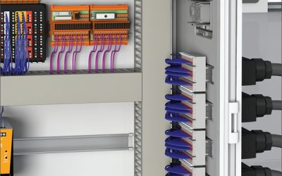 RockStar®ModuPlug Wall Solution Электромонтаж через стенку шкафа управления