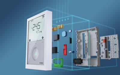 SIEMENS RDG200 – Повна автоматизація приміщення в одному термостаті
