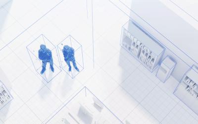 Оптичний датчик присутності thePixa KNX: оптимізація автоматизації та експлуатації будівель