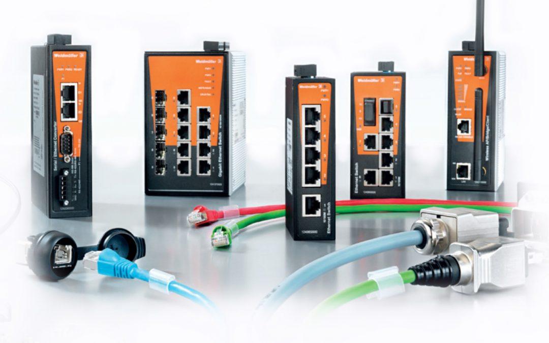 Промисловий Ethernet Weidmuller