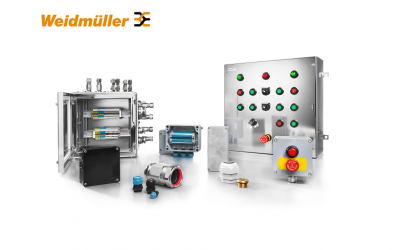 Рішення для вибухонебезпечних виробництв у вибухозахищеному виконанні від Weidmüller
